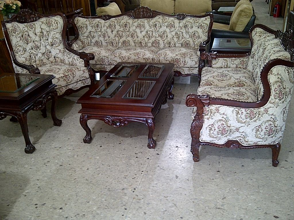 Sala provenzal torsal en cedro tallada a mano muebles for Buscar cocinas de segunda mano