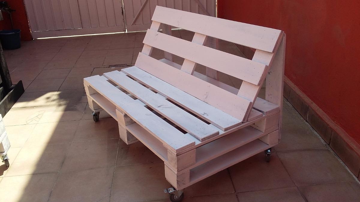 Sala sillon sof palet madera pino maciza pallets tarima for Bar de madera para sala