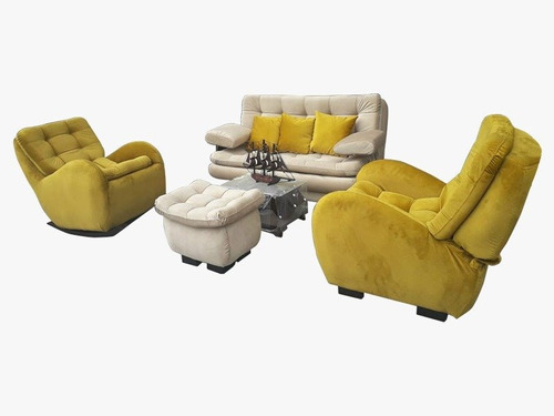 sala sofa cama sillones mecedora reclinable tercioper o lona