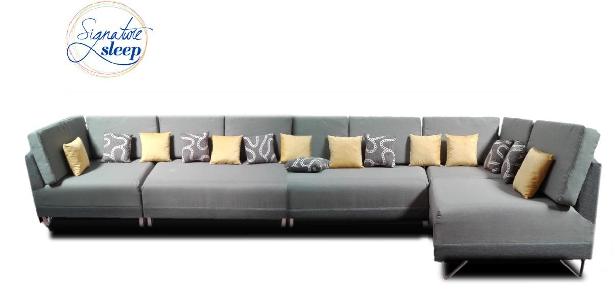 Sala tambien sofa cama moderna minimalista modular elegante 17 en mercado libre - Sofa cama minimalista ...