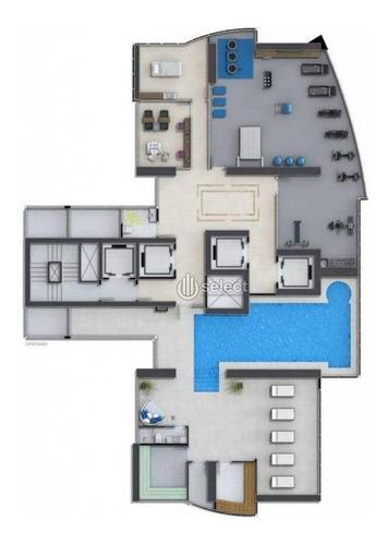 sala terrea frente mar com 25 vagas de garagem - sa0123