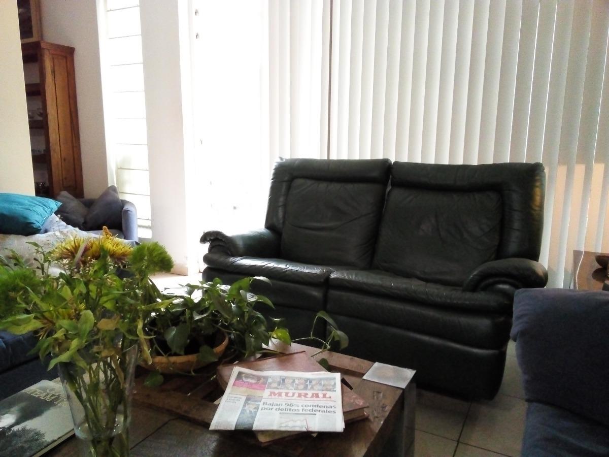 Sala Tutto Pelle 2 Piezas Sofa Cama Y Reclinables 25 000 00  # Muebles Tutto Pelle Guadalajara