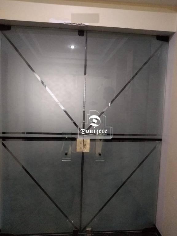 sala à venda, 100 m² por r$ 650.000,00 - jardim - santo andré/sp - sa0953