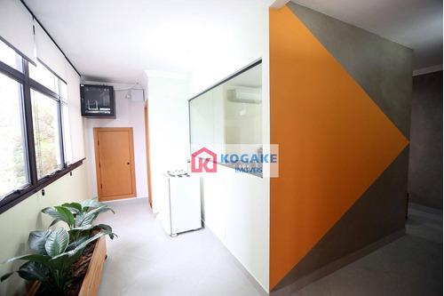 sala à venda, 103 m² por r$ 650.000,00 - centro - são josé dos campos/sp - sa1088