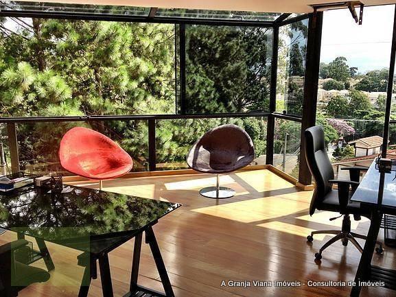 sala à venda, 250 m² por r$ 3.000.000 - granja viana - cotia/sp - sa0056