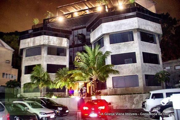 sala à venda, 250 m² por r$ 3.000.000,00 - granja viana - cotia/sp - sa0056