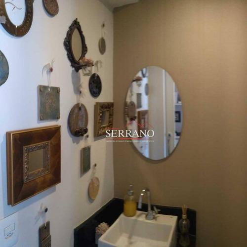 sala à venda, 265 m² por r$ 3.500.000 - jardim itália - vinhedo/sp - sa0031