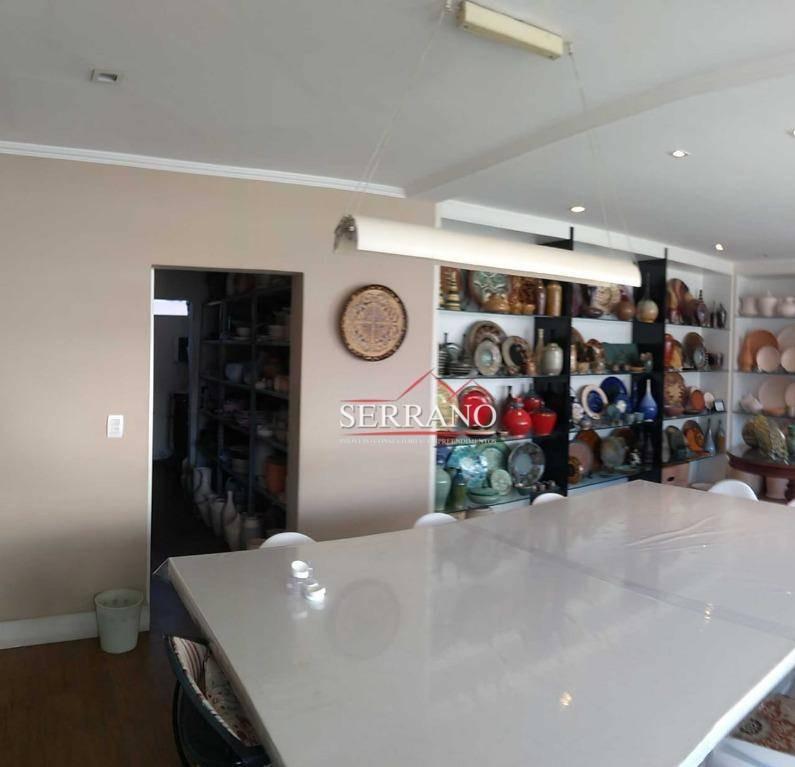 sala à venda, 265 m² por r$ 3.500.000,00 - jardim itália - vinhedo/sp - sa0031