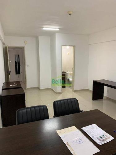 sala à venda, 32 m² por r$ 130.000 - madalena - recife/pe - sa0093