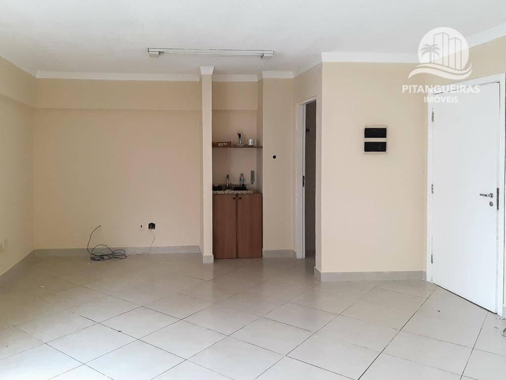 sala à venda, 32 m² por r$ 210.000,00 - pitangueiras - guarujá/sp - sa0026