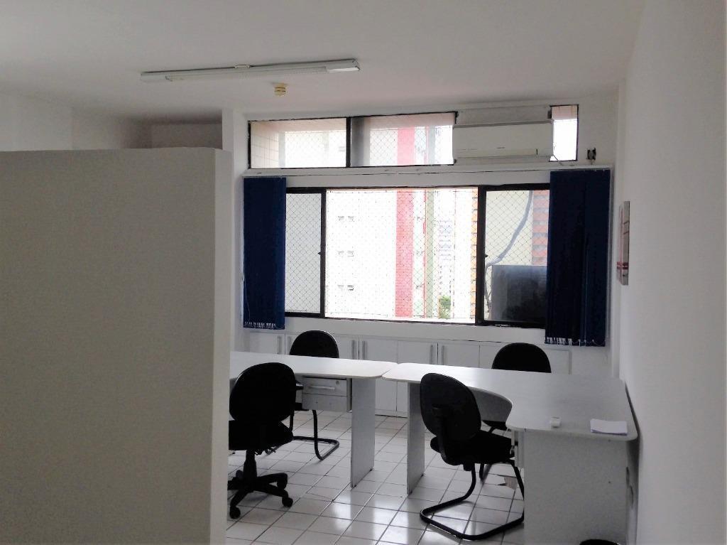 sala à venda, 33 m² - boa viagem - recife/pe - sa0262