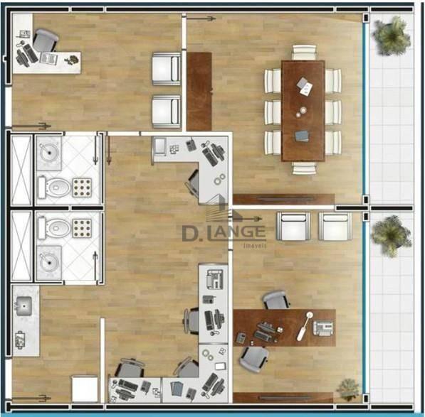 sala à venda, 33 m² por r$ 300.000,00 - jardim chapadão - campinas/sp - sa1825