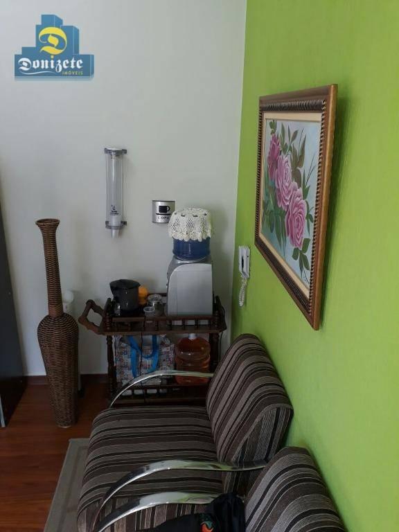 sala à venda, 35 m² por r$ 201.400,00 - vila guiomar - santo andré/sp - sa0462