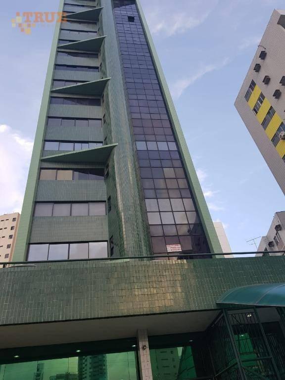sala à venda, 36 m² por r$ 235.000 - boa viagem - recife/pe - sa0145