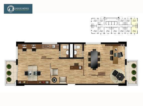 sala à venda, 36 m² por r$ 320.000,00 - vila leopoldina - são paulo/sp - sa0330