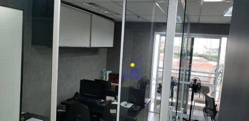 sala à venda, 37 m² por r$ 340.000 - vila regente feijó - são paulo/sp - sa0397
