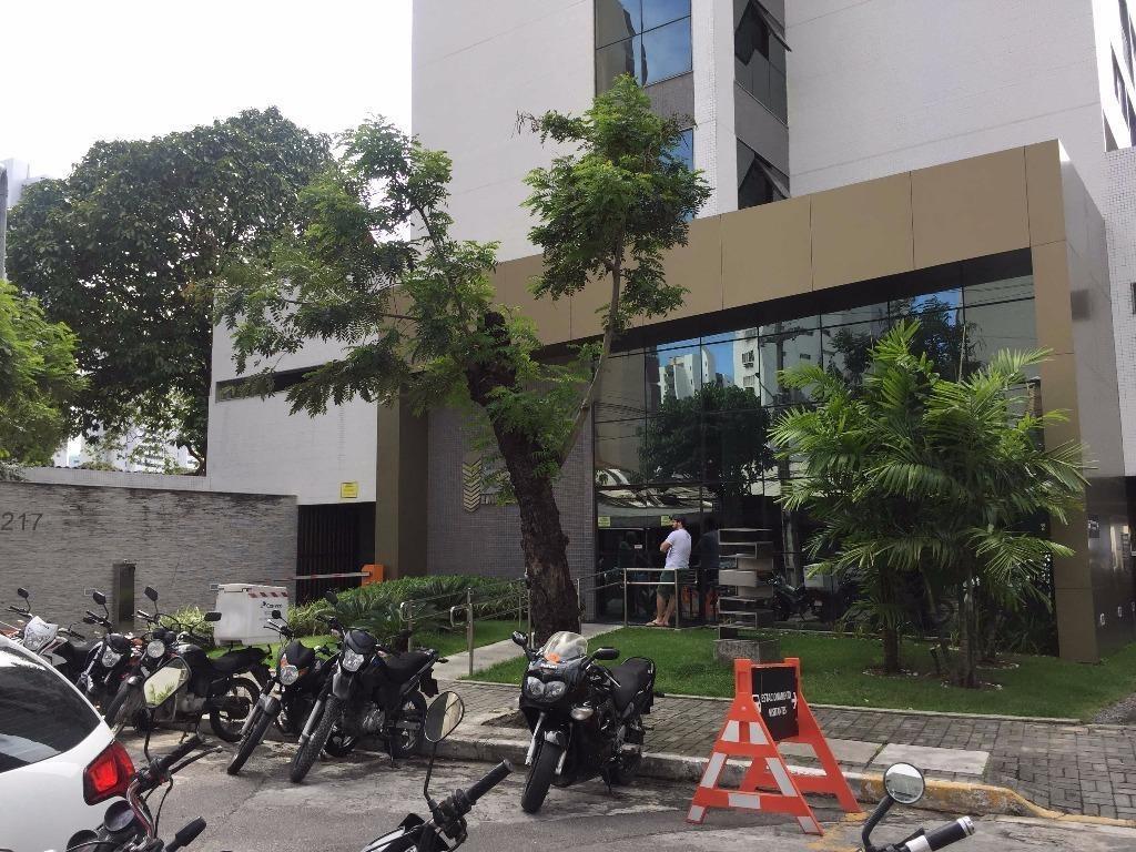 sala à venda, 39 m² por r$ 250.000 - casa amarela - recife/pe - sa0187