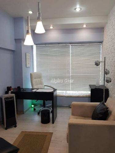 sala à venda, 40 m² por r$ 360.000 - alphaville empresarial - barueri/sp - sa0285