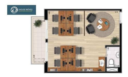 sala à venda, 40 m² por r$ 562.364,00 - vila leopoldina - são paulo/sp - sa0342