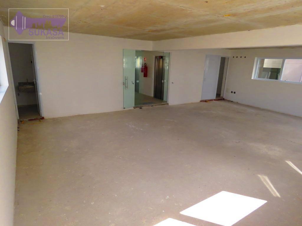 sala à venda, 42 m² por r$ 372.000,00 - centro - santo andré/sp - sa0002