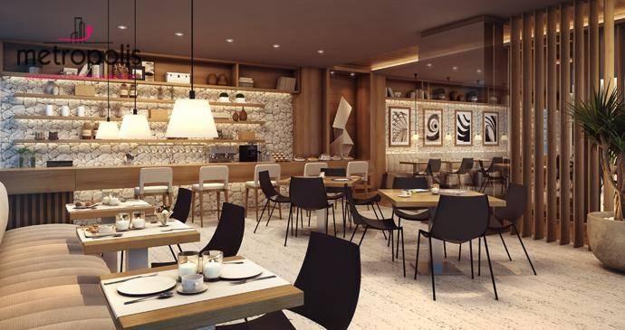 sala à venda, 43 m² por r$ 229.000,00 - cerâmica - são caetano do sul/sp - sa0016