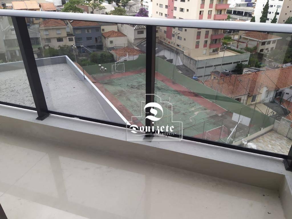 sala à venda, 44 m² por r$ 350.000,01 - centro - santo andré/sp - sa0957