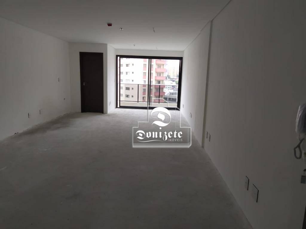 sala à venda, 44 m² por r$ 350.000,01 - centro - santo andré/sp - sa0960