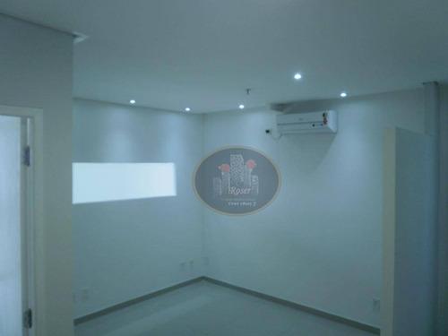 sala à venda, 47 m² por r$ 550.000 - barra funda - são paulo/sp - sa0354