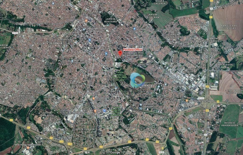 sala à venda, 48 m² por r$ 245.000,00 - jardim palma travassos - ribeirão preto/sp - sa0092