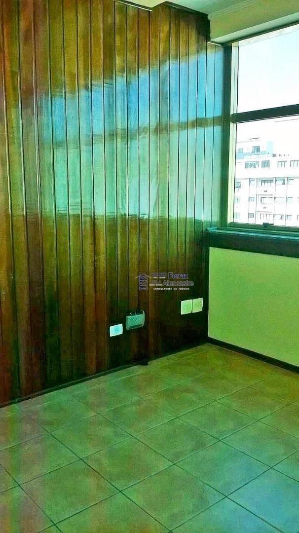 sala à venda, 48 m² por r$ 305.000,00 - gonzaga - santos/sp - sa0034