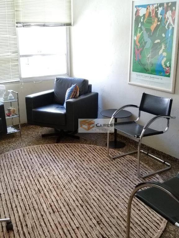 sala à venda, 59 m² por r$ 270.000 - cambuí - campinas/sp - sa0202