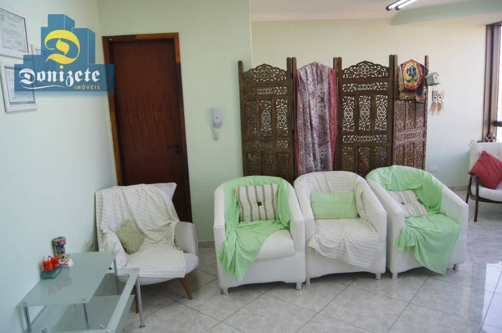 sala à venda, 61 m² por r$ 330.000,00 - centro - santo andré/sp - sa0570