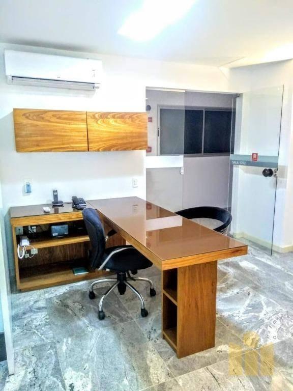 sala à venda, 64 m² por r$ 350.000 - centro - maceió/al - sa0004