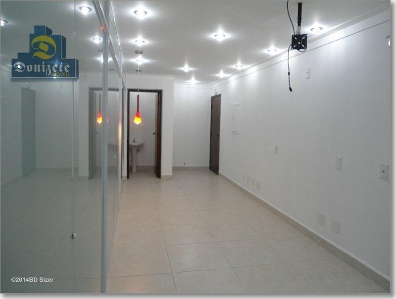 sala à venda, 90 m² por r$ 495.000,00 - jardim - santo andré/sp - sa0184