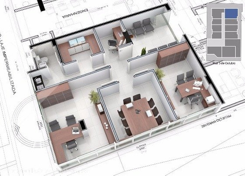 sala/conjunto - centro administrativo - ref: 174844 - v-174844