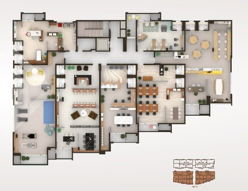 sala/conjunto - centro - ref: 222457 - v-222457