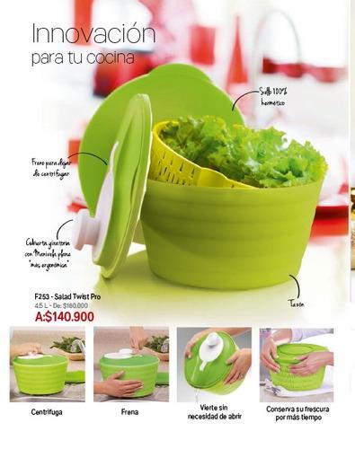 salad twist pro tupperware