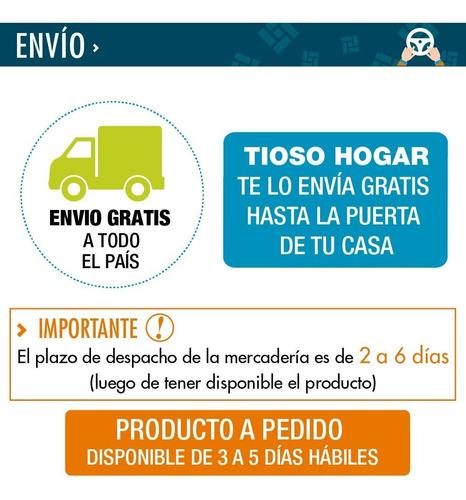 salamandra bosca eco 360 estufa leña 150m2 kit envio gratis