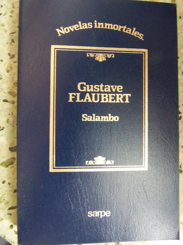 salambo gustave flaubert editorial sarpe