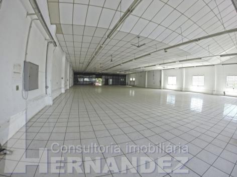 salao comercial - 1.320 m² - gopouva - loc183