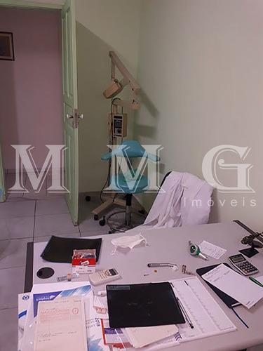 salas comerciais completa - consultório dentista. - mg502