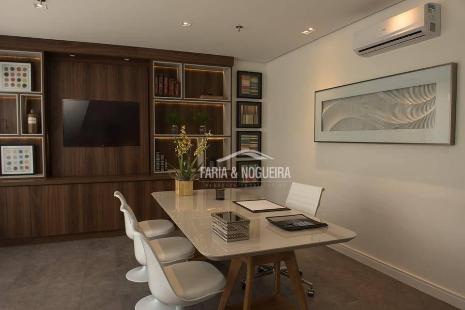 salas comerciais à venda, 42 m² por r$ 282.000 - office tower, jardim claret - rio claro/sp - sa0011