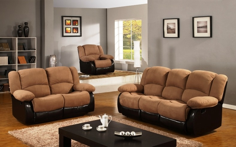 Salas Con Reclinables Sofa Suelto Daa 13 En