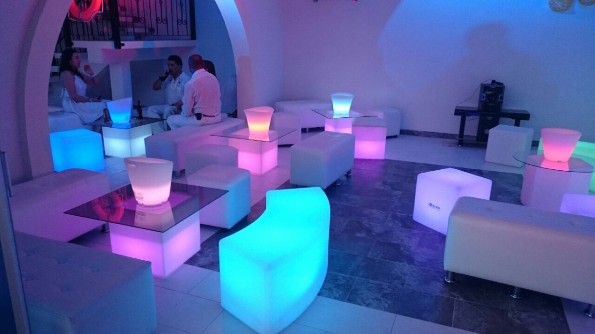 Salas Led Neon Salas Lounge Pistas Led Organizaci N Eventos En  # Muebles Lounge Para Eventos