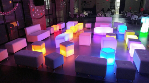 salas led neon y salas lounge alquiler pistas led- bar led -