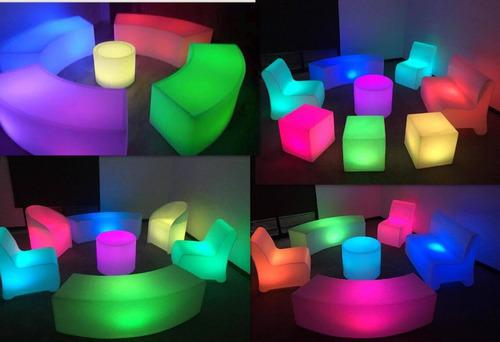 salas lounge iluminadas periqueras iluminadas