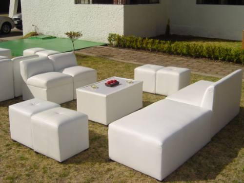 Salas lounge toluca metepec renta muebles para eventos for Alquiler de muebles para eventos