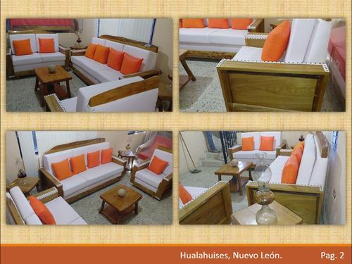 salas rusticas madera sabino