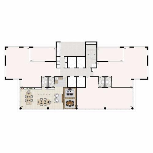 salas/conjuntos - jardins - ref: 323 - v-323
