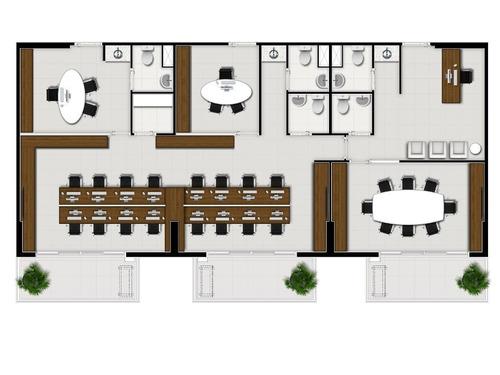 salas/conjuntos - pinheiros - ref: 449 - v-449